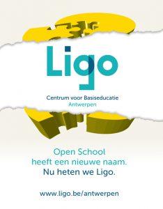 Open School heeft een nieuwe naam. Nu heten we Ligo